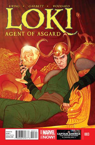 Loki: Agent of Asgard #3 comic books for sale
