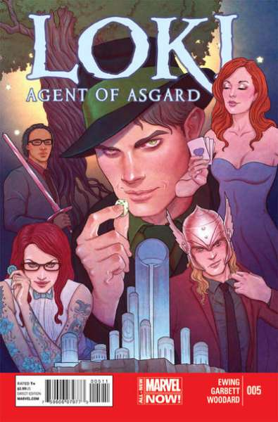 Loki: Agent of Asgard #5 comic books for sale