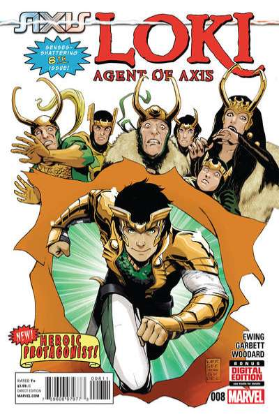 Loki: Agent of Asgard #8 comic books for sale