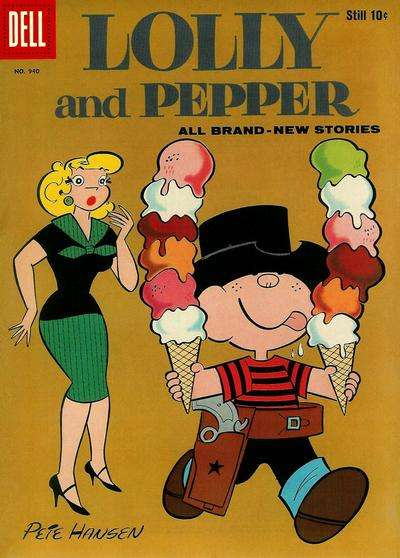 Lolly and Pepper #2 comic books - cover scans photos Lolly and Pepper #2 comic books - covers, picture gallery