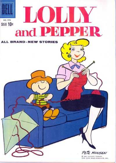 Lolly and Pepper #3 comic books - cover scans photos Lolly and Pepper #3 comic books - covers, picture gallery
