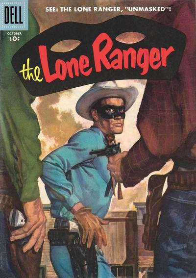 Lone Ranger #100 comic books - cover scans photos Lone Ranger #100 comic books - covers, picture gallery