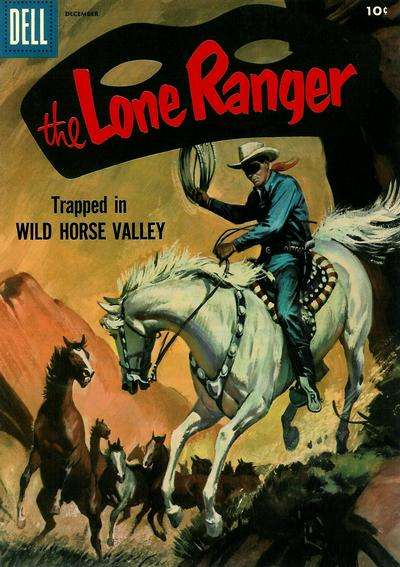 Lone Ranger #102 comic books - cover scans photos Lone Ranger #102 comic books - covers, picture gallery
