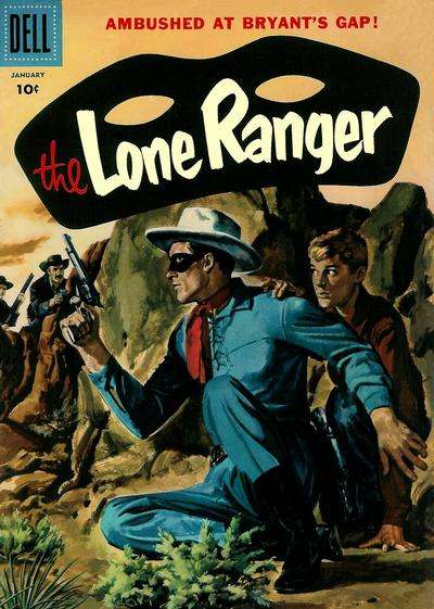 Lone Ranger #103 comic books - cover scans photos Lone Ranger #103 comic books - covers, picture gallery