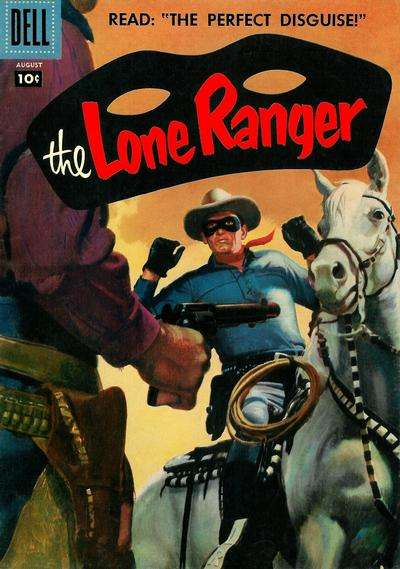 Lone Ranger #110 comic books - cover scans photos Lone Ranger #110 comic books - covers, picture gallery