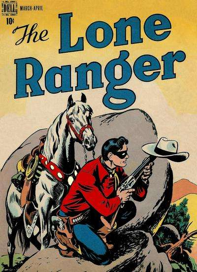 Lone Ranger #2 Comic Books - Covers, Scans, Photos  in Lone Ranger Comic Books - Covers, Scans, Gallery