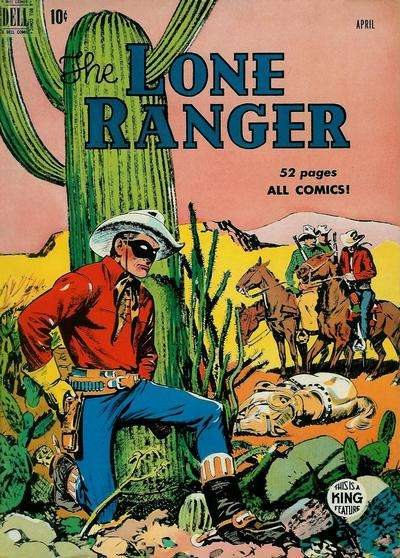 Lone Ranger #22 Comic Books - Covers, Scans, Photos  in Lone Ranger Comic Books - Covers, Scans, Gallery