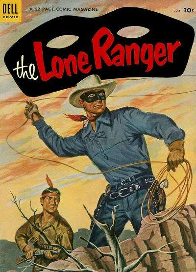Lone Ranger #73 comic books - cover scans photos Lone Ranger #73 comic books - covers, picture gallery