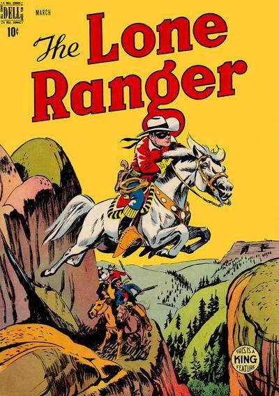 Lone Ranger #9 comic books - cover scans photos Lone Ranger #9 comic books - covers, picture gallery