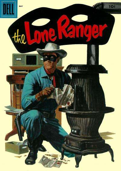 Lone Ranger #95 Comic Books - Covers, Scans, Photos  in Lone Ranger Comic Books - Covers, Scans, Gallery