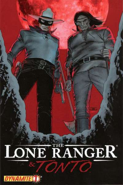 Lone Ranger and Tonto comic books