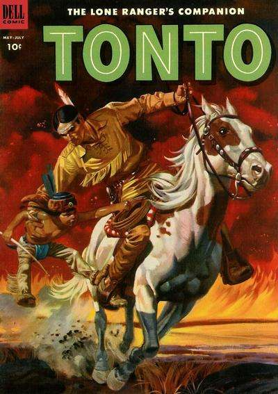 Lone Ranger's Companion Tonto #11 Comic Books - Covers, Scans, Photos  in Lone Ranger's Companion Tonto Comic Books - Covers, Scans, Gallery