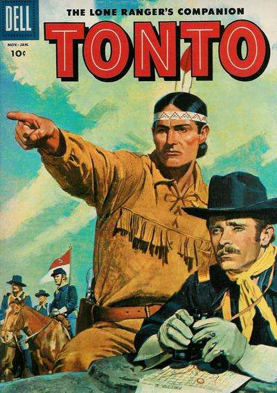 Lone Ranger's Companion Tonto #21 comic books for sale