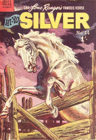 Lone Ranger's Famous Horse Hi-Yo Silver #14 comic books for sale