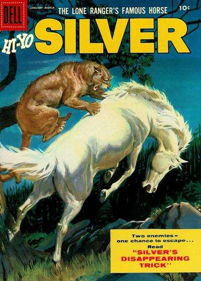 Lone Ranger's Famous Horse Hi-Yo Silver #17 Comic Books - Covers, Scans, Photos  in Lone Ranger's Famous Horse Hi-Yo Silver Comic Books - Covers, Scans, Gallery