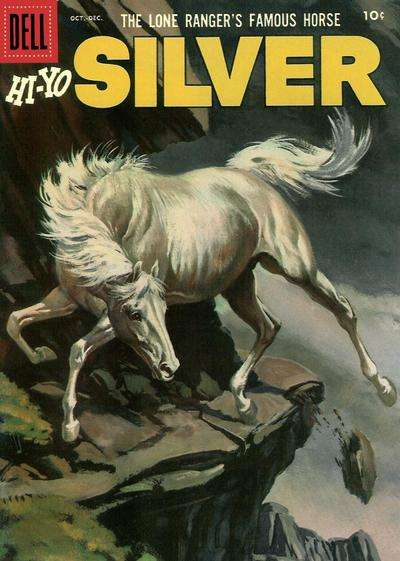 Lone Ranger's Famous Horse Hi-Yo Silver #20 comic books for sale