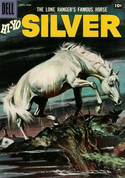 Lone Ranger's Famous Horse Hi-Yo Silver #22 Comic Books - Covers, Scans, Photos  in Lone Ranger's Famous Horse Hi-Yo Silver Comic Books - Covers, Scans, Gallery