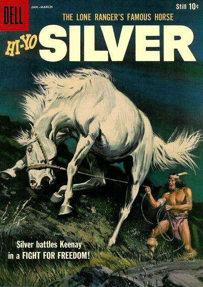 Lone Ranger's Famous Horse Hi-Yo Silver #29 comic books - cover scans photos Lone Ranger's Famous Horse Hi-Yo Silver #29 comic books - covers, picture gallery