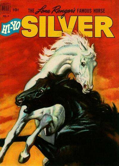 Lone Ranger's Famous Horse Hi-Yo Silver #3 Comic Books - Covers, Scans, Photos  in Lone Ranger's Famous Horse Hi-Yo Silver Comic Books - Covers, Scans, Gallery