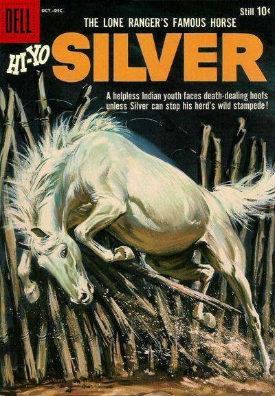 Lone Ranger's Famous Horse Hi-Yo Silver #32 comic books for sale