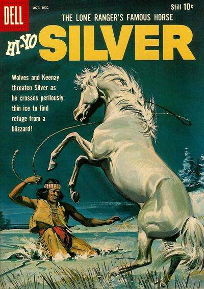 Lone Ranger's Famous Horse Hi-Yo Silver #36 comic books for sale