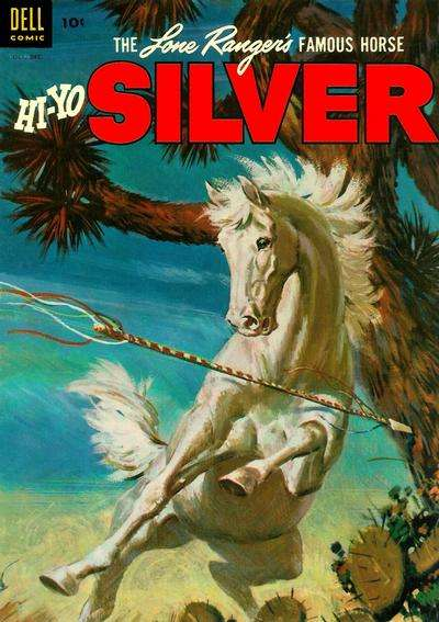 Lone Ranger's Famous Horse Hi-Yo Silver #8 Comic Books - Covers, Scans, Photos  in Lone Ranger's Famous Horse Hi-Yo Silver Comic Books - Covers, Scans, Gallery
