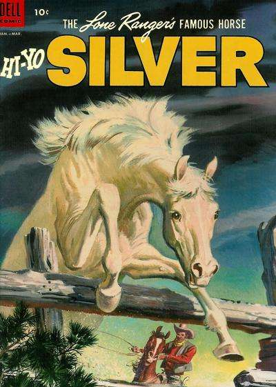 Lone Ranger's Famous Horse Hi-Yo Silver #9 Comic Books - Covers, Scans, Photos  in Lone Ranger's Famous Horse Hi-Yo Silver Comic Books - Covers, Scans, Gallery