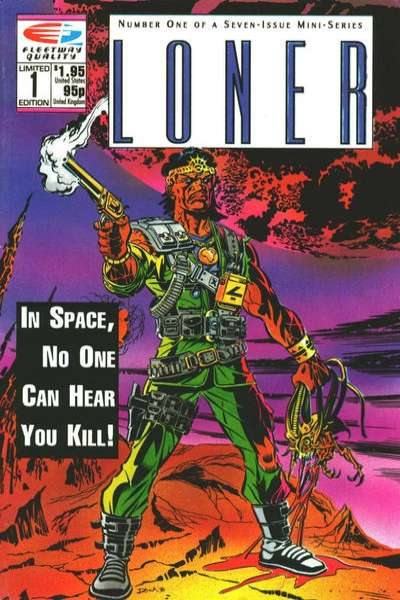 Loner comic books