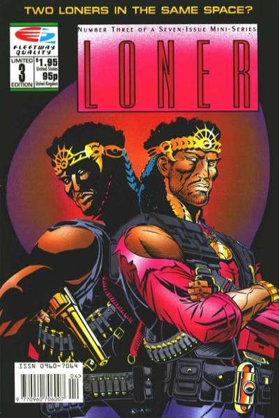 Loner #3 Comic Books - Covers, Scans, Photos  in Loner Comic Books - Covers, Scans, Gallery