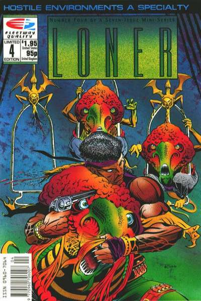 Loner #4 Comic Books - Covers, Scans, Photos  in Loner Comic Books - Covers, Scans, Gallery