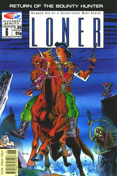 Loner #6 Comic Books - Covers, Scans, Photos  in Loner Comic Books - Covers, Scans, Gallery