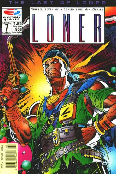 Loner #7 Comic Books - Covers, Scans, Photos  in Loner Comic Books - Covers, Scans, Gallery