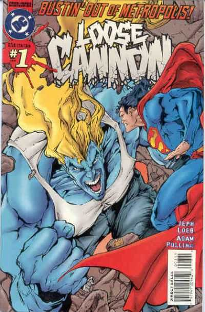 Loose Cannon #1 comic books - cover scans photos Loose Cannon #1 comic books - covers, picture gallery