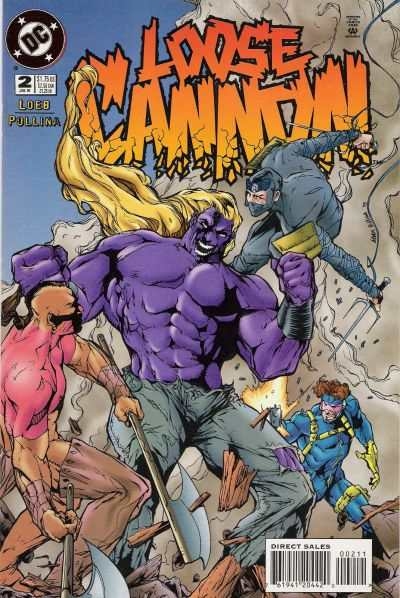 Loose Cannon #2 comic books - cover scans photos Loose Cannon #2 comic books - covers, picture gallery