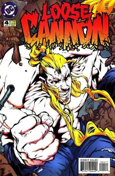 Loose Cannon #4 comic books - cover scans photos Loose Cannon #4 comic books - covers, picture gallery