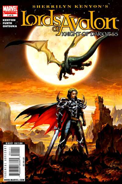 Lords of Avalon: Knight of Darkness comic books
