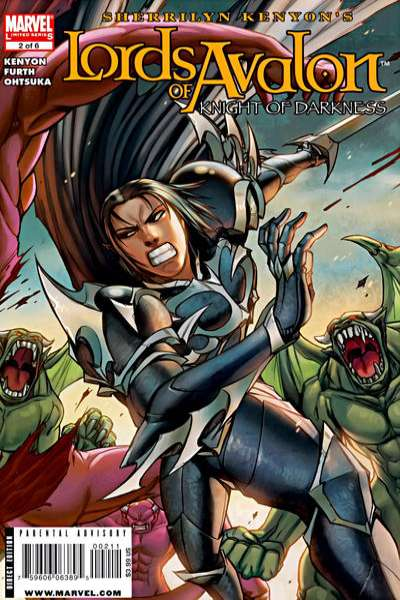 Lords of Avalon: Knight of Darkness #2 comic books for sale