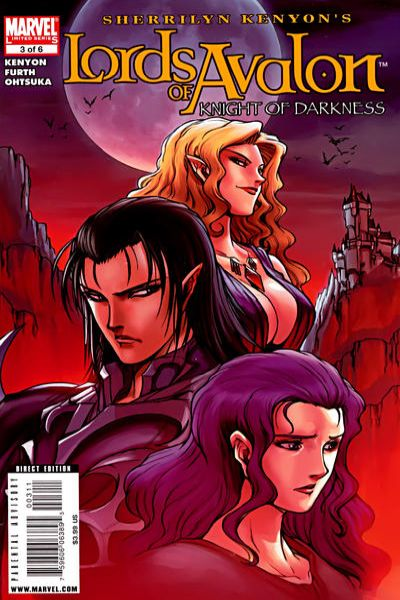 Lords of Avalon: Knight of Darkness #3 comic books - cover scans photos Lords of Avalon: Knight of Darkness #3 comic books - covers, picture gallery