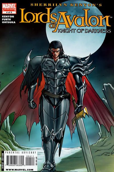 Lords of Avalon: Knight of Darkness #4 comic books - cover scans photos Lords of Avalon: Knight of Darkness #4 comic books - covers, picture gallery