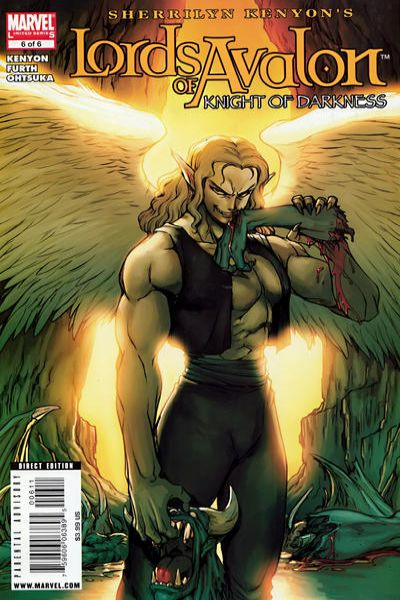 Lords of Avalon: Knight of Darkness #6 comic books - cover scans photos Lords of Avalon: Knight of Darkness #6 comic books - covers, picture gallery