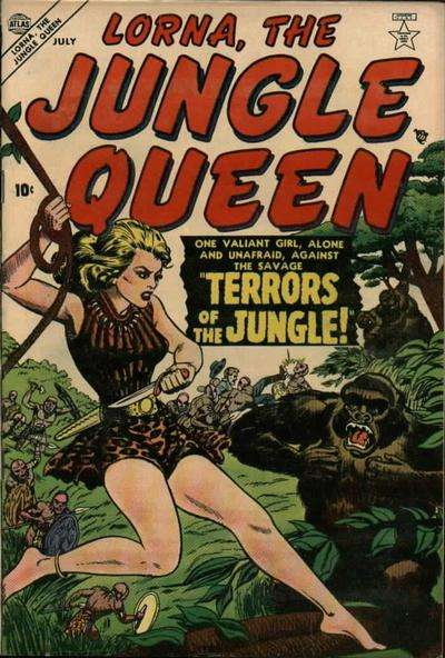 Lorna: The Jungle Girl comic books
