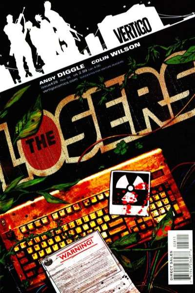 Losers #28 Comic Books - Covers, Scans, Photos  in Losers Comic Books - Covers, Scans, Gallery