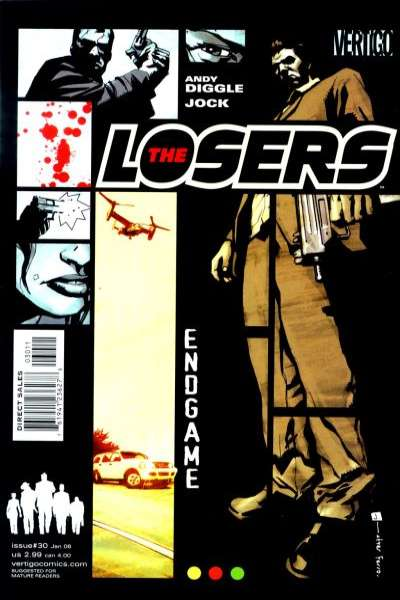 Losers #30 Comic Books - Covers, Scans, Photos  in Losers Comic Books - Covers, Scans, Gallery