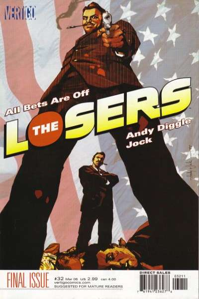 Losers #32 comic books for sale