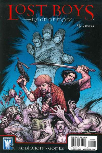 Lost Boys: Reign of Frogs #1 Comic Books - Covers, Scans, Photos  in Lost Boys: Reign of Frogs Comic Books - Covers, Scans, Gallery