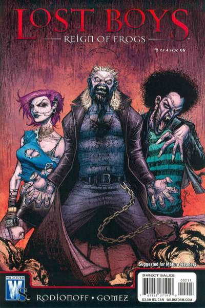 Lost Boys: Reign of Frogs #2 comic books for sale