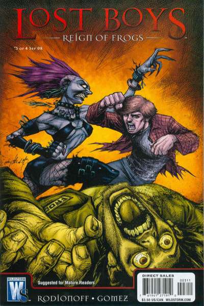 Lost Boys: Reign of Frogs #3 Comic Books - Covers, Scans, Photos  in Lost Boys: Reign of Frogs Comic Books - Covers, Scans, Gallery