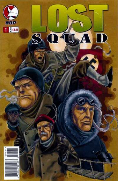 Lost Squad Comic Books. Lost Squad Comics.