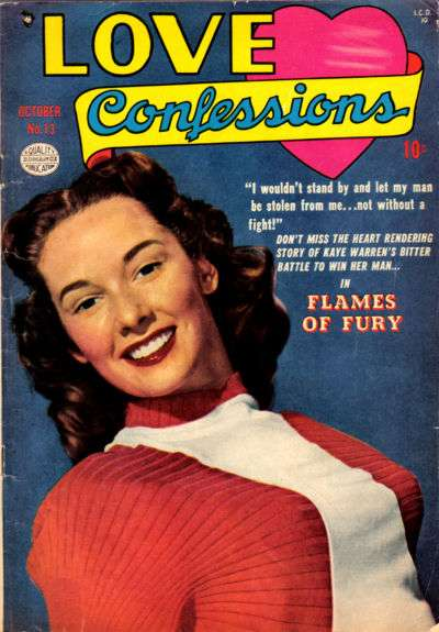 Love Confessions #13 comic books - cover scans photos Love Confessions #13 comic books - covers, picture gallery