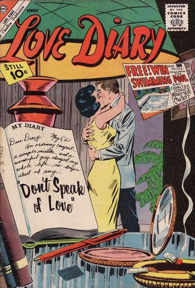 Love Diary #17 Comic Books - Covers, Scans, Photos  in Love Diary Comic Books - Covers, Scans, Gallery
